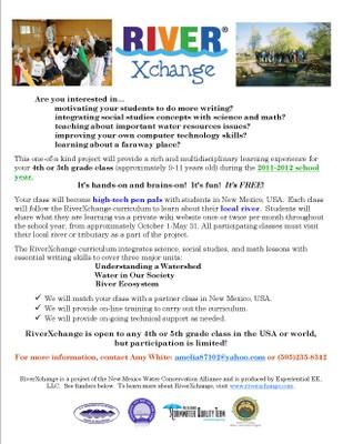 RiverXchange flyer 2011-12