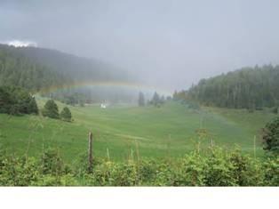 Rainbow in Sacramentos watershed