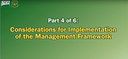 Restoring Composition.. Part 4 of 6: Considerations for Implementation of the Management Framework